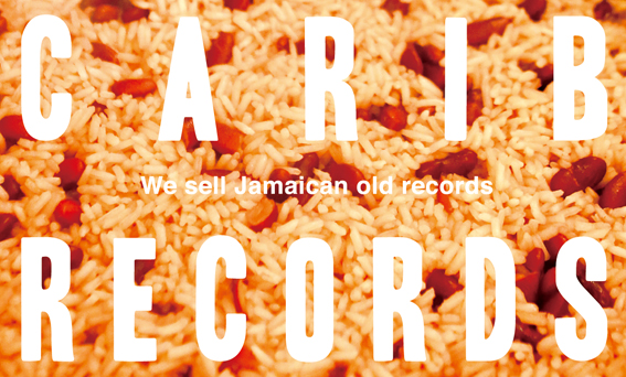 CARIB RECORDS -CARD & STICKER-